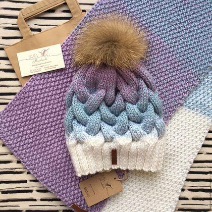 Комплекты аксессуаров ручной работы. Ярмарка Мастеров - ручная работа. Купить Комплект шапка+ шарф. Handmade. Шапка, шарф