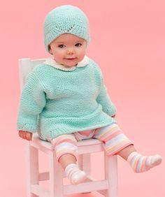 Camilla Baby Pullover und Mütze