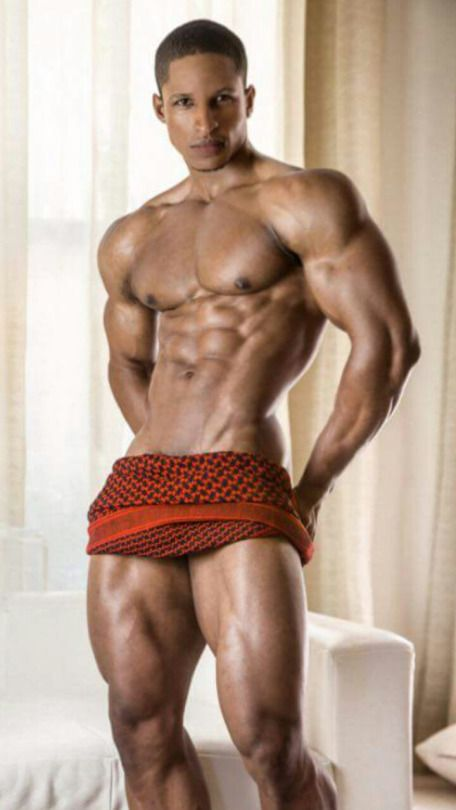 Hot naked mulatto men