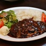 Slow Cooked Beef Brisket in Rich Onion and Mushroom Gravy