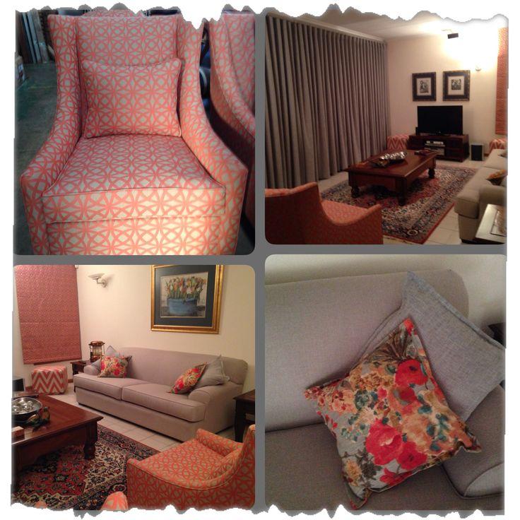 Bright lively living room