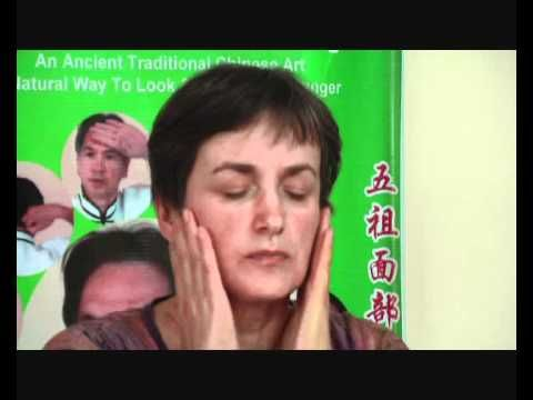 Facial Massage Muscle Detox 5 minutes daily workout Smooth Wrinkles Face Lift Look Years Younger