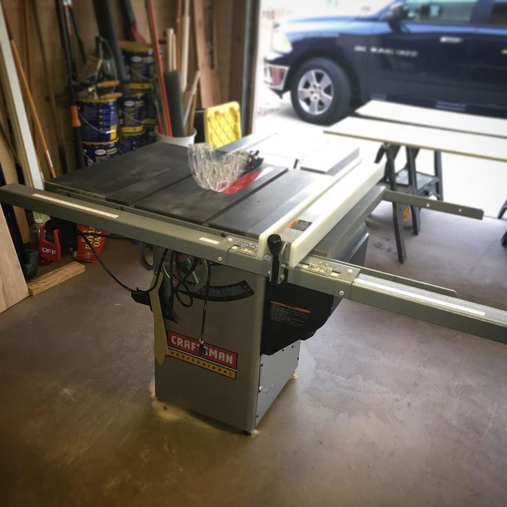 Wonderful Premium Hybrid Table Saw (model 221162 Weighing In At Over 500 Lbs) With  Granite Top.