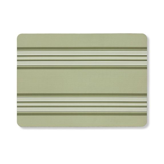 French Stripe Cushion Mat