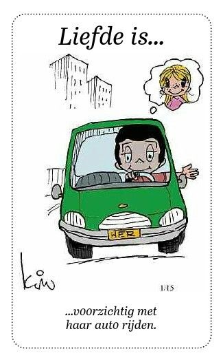 liefde is auto