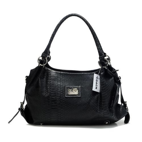 Coach In Embossed Medium Black Satchels DFN [coach 2014#404] - $48.23 : Coach Outlet Stores - Locations of Coach Factory Stores