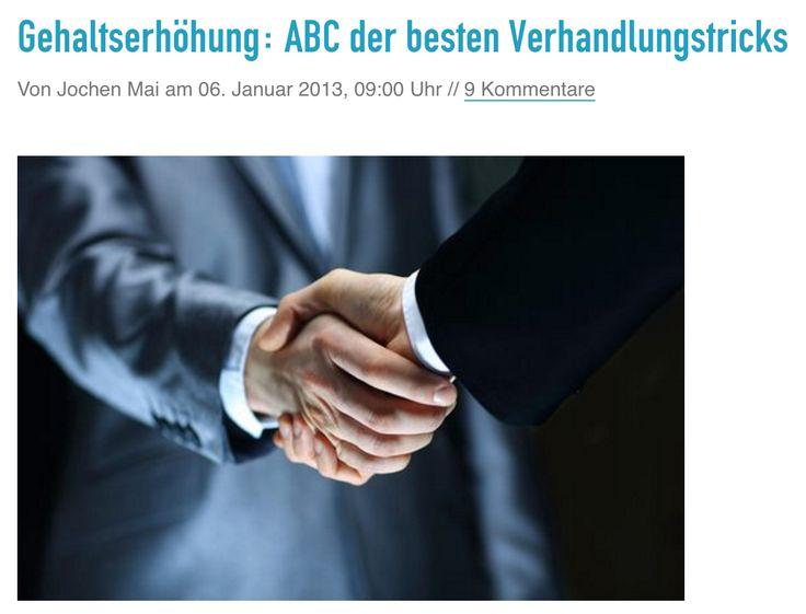 Gehaltserhöhung: ABC der besten Verhandlungstricks