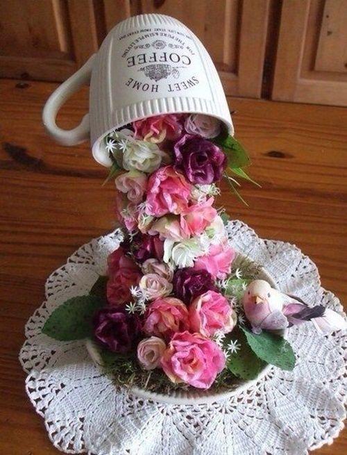 1000+ imágenes sobre cup art en Pinterest   Flores en cascada, Decoraciones  de casa y Filigrana