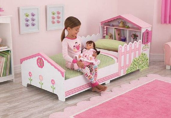Dollhouse Toddler Bed Move from little angel by DiscountDollhouse