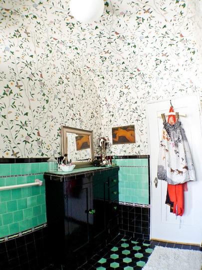 Bathroom Wallpaper Inspiration