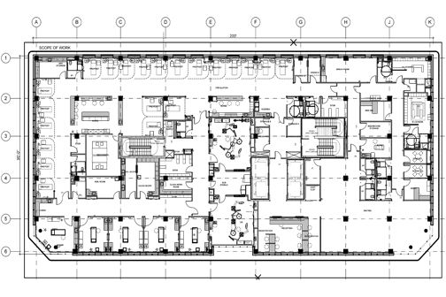 Oncology Center Floor Plans Center Josie Robertson