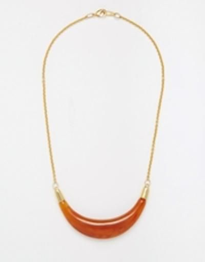 gogo philip bib necklace  gold #necklace #babies #jewelry #accessories #lace #covetme