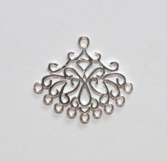 9 best filigree findings images on Pinterest | Chandelier earrings ...