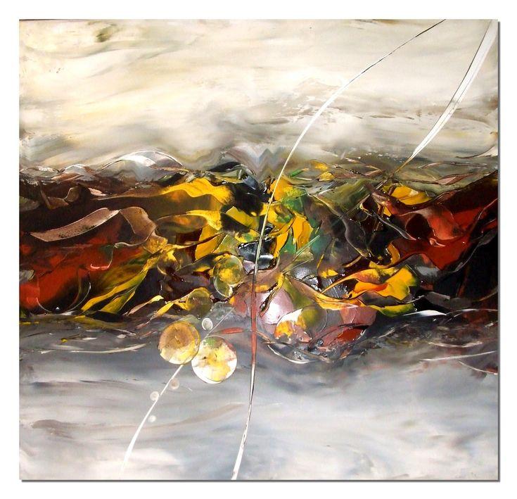 Acrylmalerei abstract acrylic painting Demo Speed