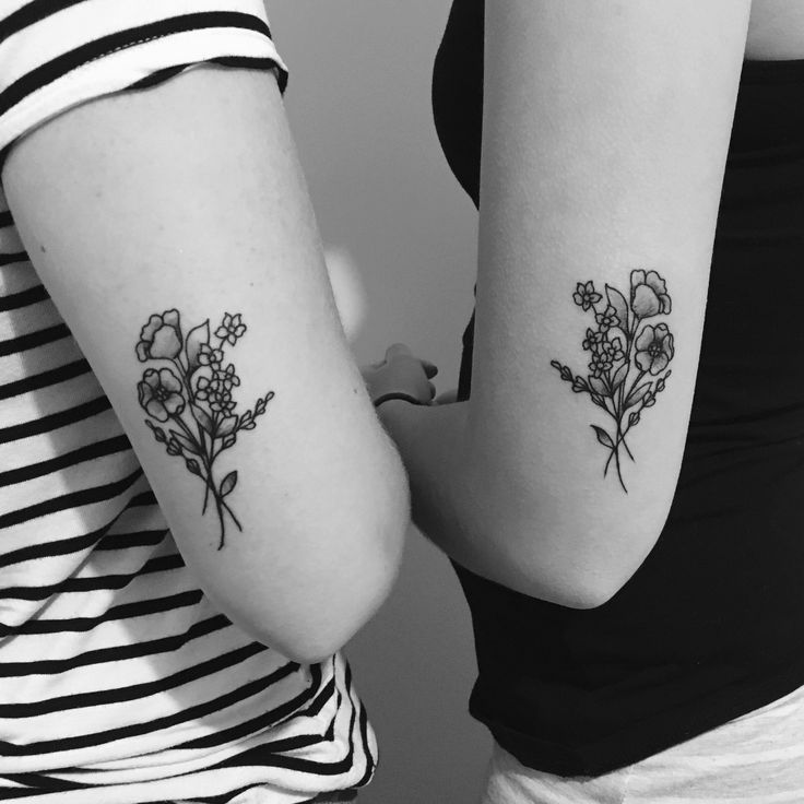 Matching tattoo with my best friend