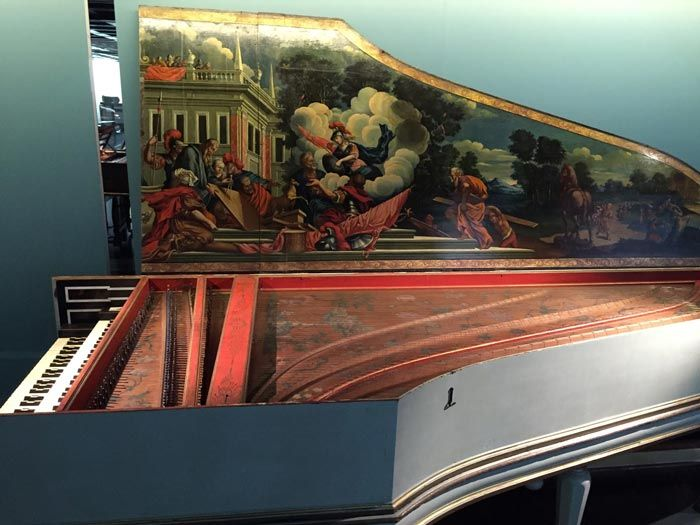 Harpsichord by Albrecht Hieronymus Hass