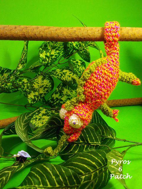 Mutazioni al crochet: il camaleonte