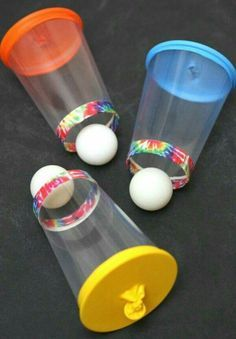 Ping pong poppers