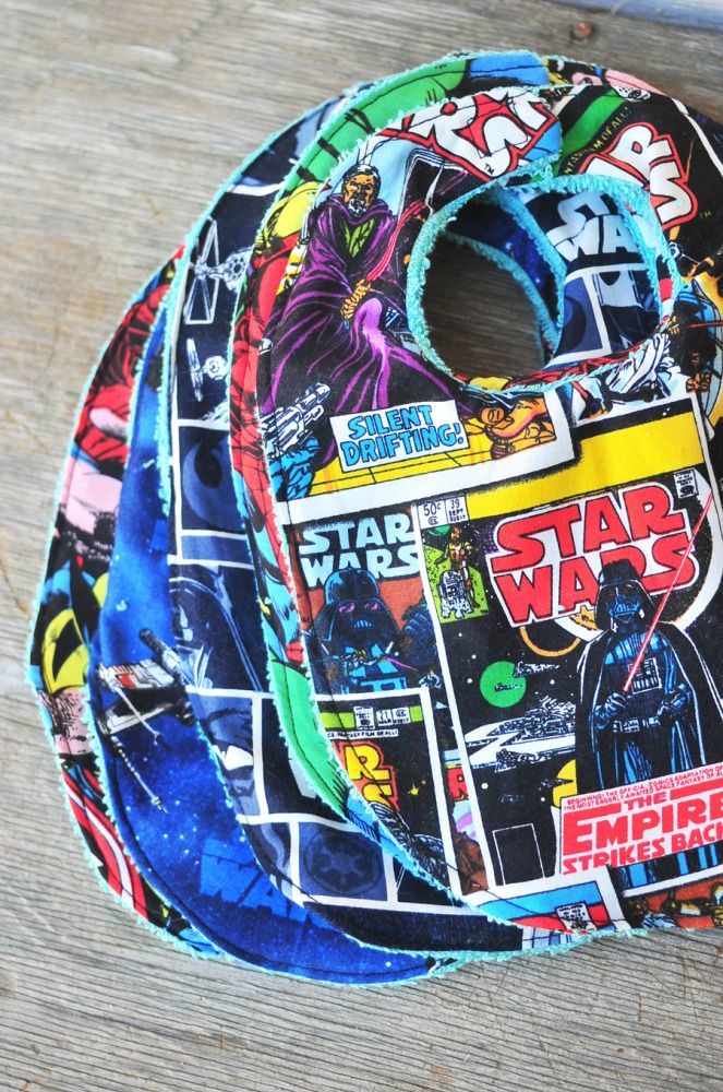 Geeky Nerdy Baby Bibs - Star Wars, Avengers and Marvel Comics