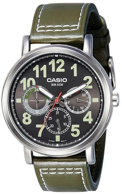 Мужские часы Casio Standard MTP-E309L-3AVDF в 2019 г ...