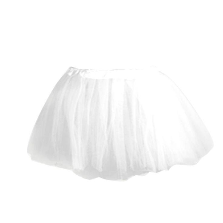 Tutu/Falda De Tul Blanco Bailarina Baile Danza Ballet Disfraz: Amazon.es: Hogar