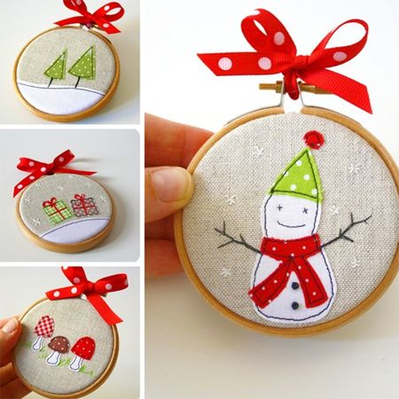 Home-Dzine - Embroidery hoop crafts