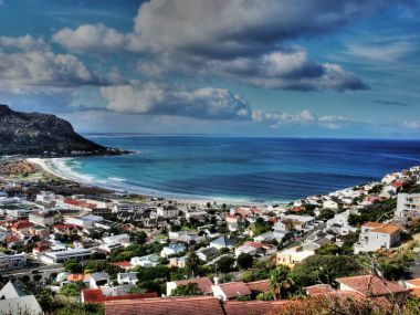 Fish Hoek views over False Bay - Cape Town.