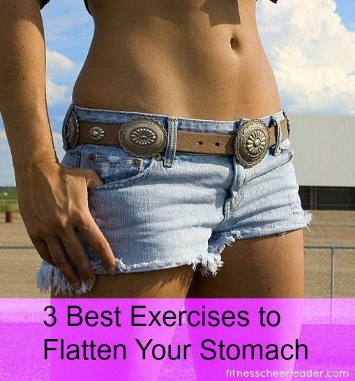 3 Best Exercises to Flatten Your Stomach ⋆ Fitness Cheerleader