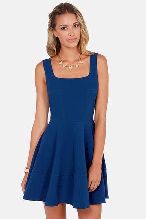 1000  ideas about Cobalt Blue Dress on Pinterest  Blue work ...