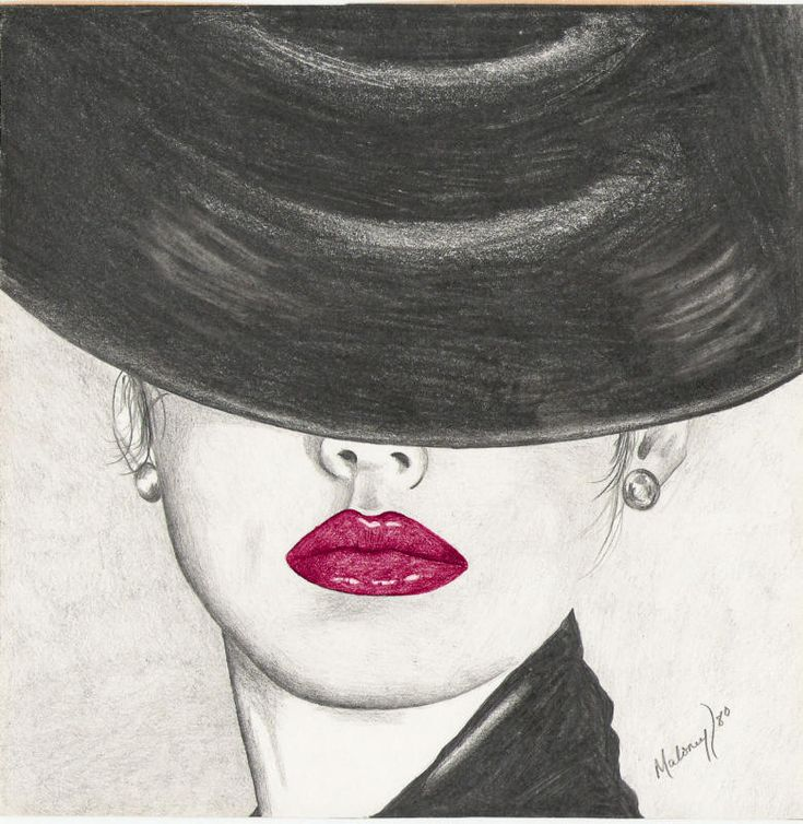 I love how you are just drawn to the lips, which is the only thing in color.  Gorgeous.