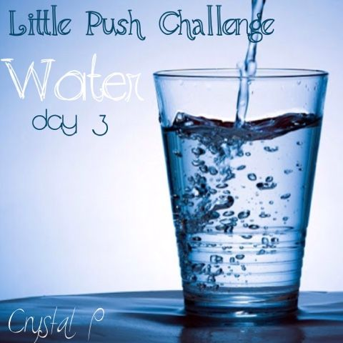 Repin if your In!  Join our Little Push Challenge and get tips and free workouts! Each day a new pin on drinking more water, exercise, clean eating and confidence building.