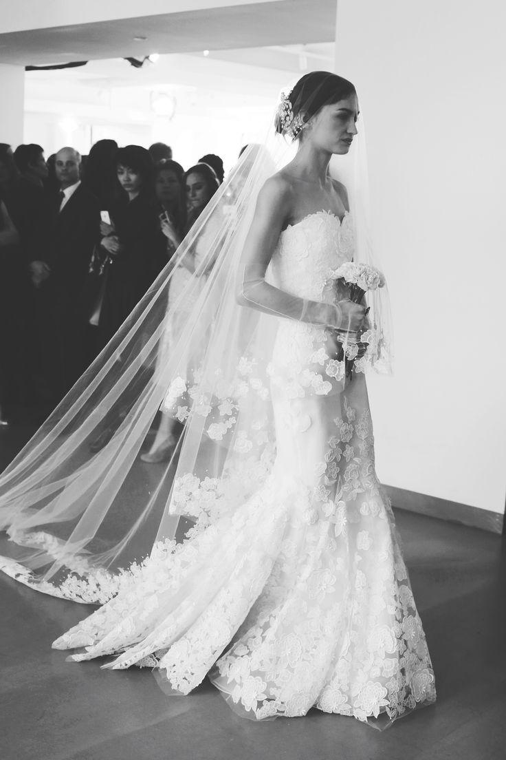 Wedding Dress Black & White
