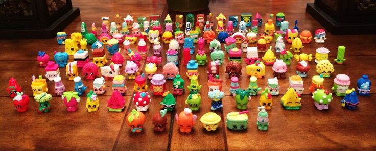 SHOPKINS Season 1 Complete Entire Set Minus Limited Editions By Moose