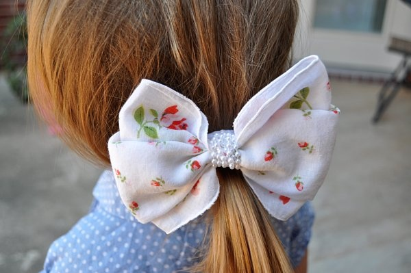 Big Hair Bows from the '80s