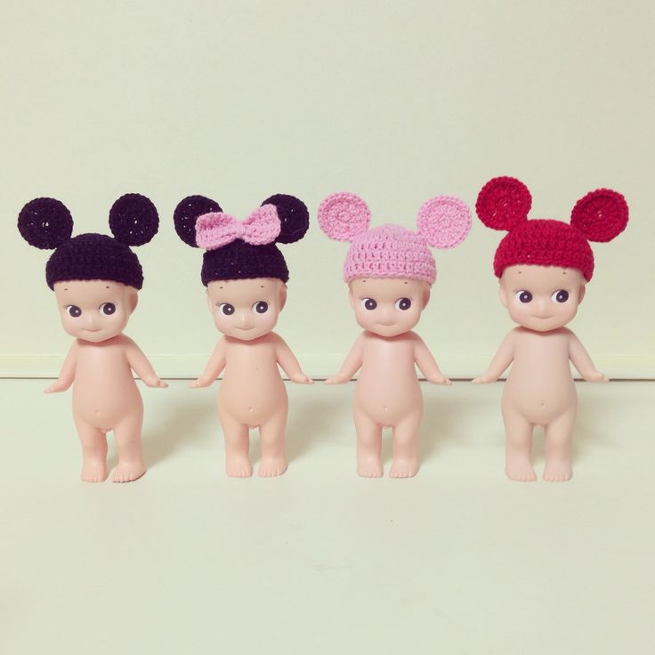 omg look at these cute mouse hats!!!