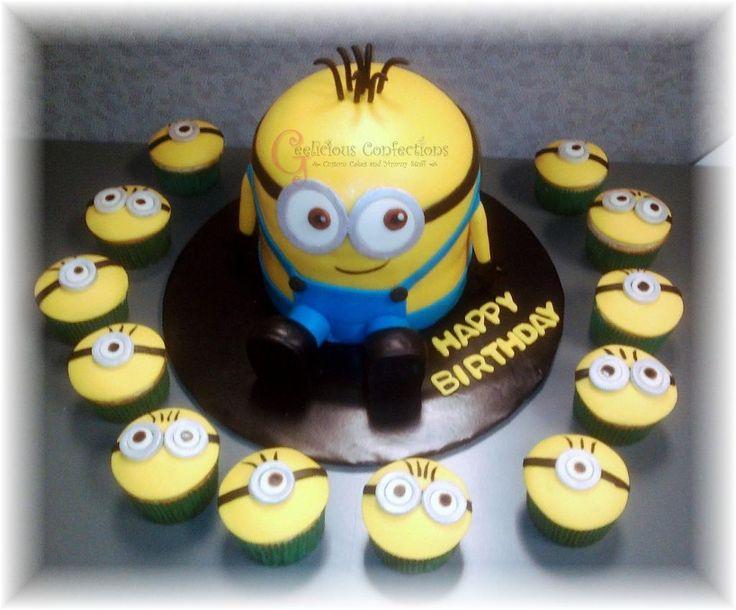 Minion Cake Pan on Pinterest  Minion cake tutorial, Minion cakes ...