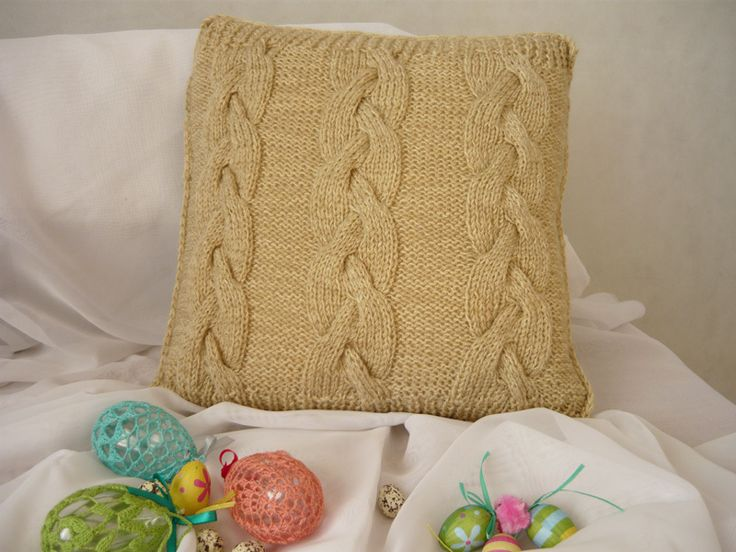 Decorative pillow case from MariArt by DaWanda.com  #MariAndAnnieArt #pillowcase