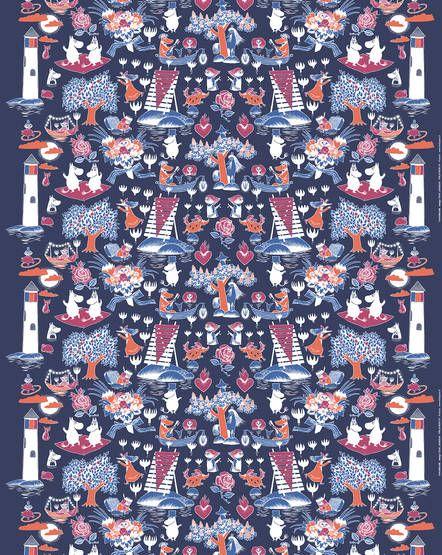 Finlayson - Taikamuumi print fabric