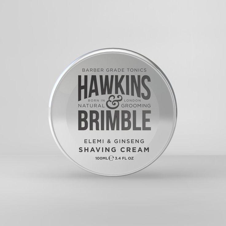 Hawkins & Brimble Shaving Cream 100ml  www.hawkinsandbrimble.co.uk