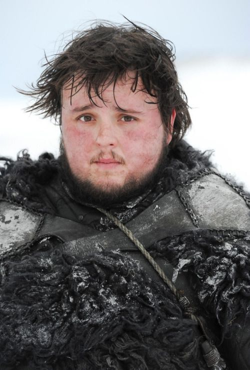 John Bradley as Samwell Tarly