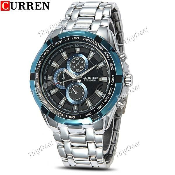 http://www.tinydeal.com/it/curren-stainless-steel-quartz-watch-w-sub-dials-decor-p-116570.html  (CURREN) Male Stainless Steel Quartz Watch Wrist Watch Analog Watch Timepiece