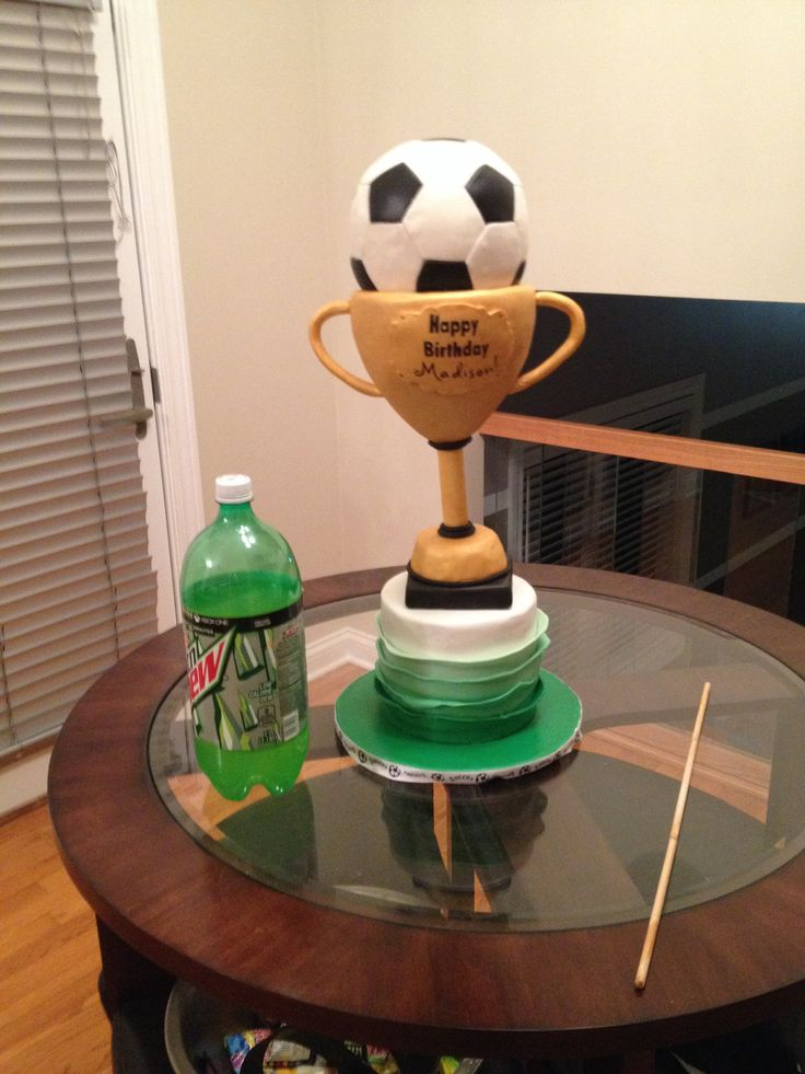 Football Trophy Cakes