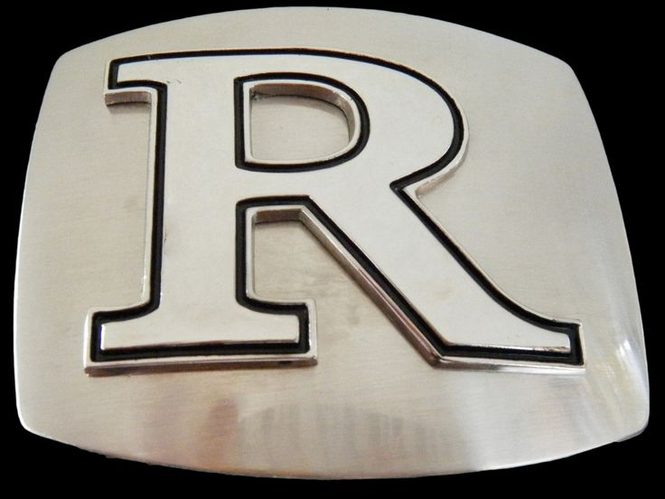 Letter Initial Name R Chrome Belt Buckle #letter #letterR #initial #initialR #alphabet #alphabetletter #alphabetinitial #r #beltbuckle #buckle #buckles #name buckle