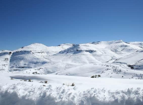 Neve: Maluti Mountains, Lesotho