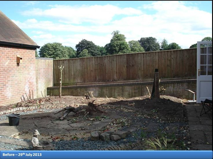 This was the start of the Snow Queen Garden Project and was taken on the 29th July 2013