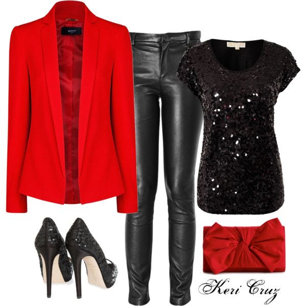 """Cute Holiday Outfit"" by keri-cruz on Polyvore"
