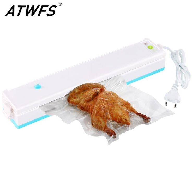 [Visit to Buy]  ATWFS Vacuum Packing Machine Best Home Vacuum Sealer Packer Food Saver Plastic Vacuum Packaging Machine Including 15pcs Bags  #Advertisement