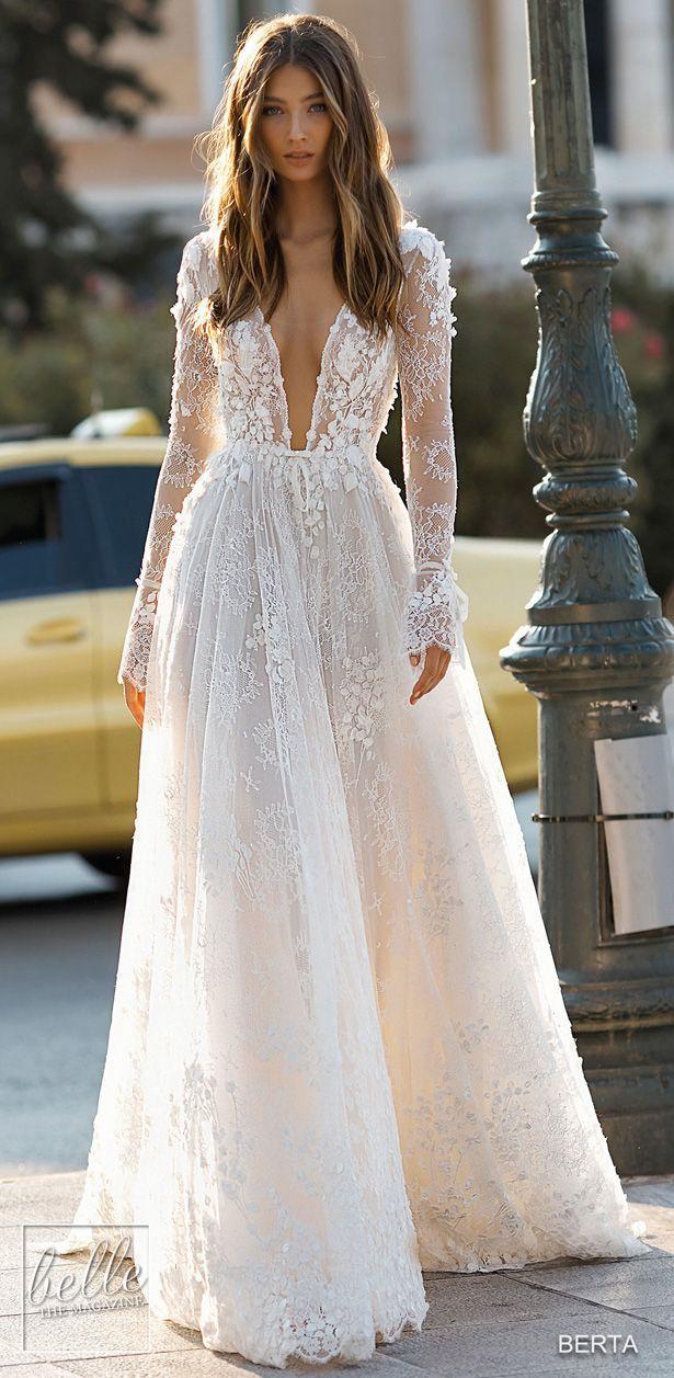 BERTA Robes de mariée 2019 – Athènes, collection de mariage #athens #berta #brautkleider …