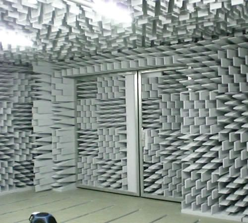 Acoustic anechoic test chamber / for noise test  WILLBRANDT KG