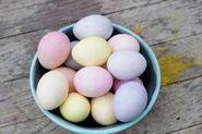 Happy Easter! Homemade Cadbury Eggs recipe.